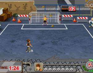 Дворовый футбол онлайн